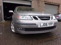 06 SAAB 9-3 VECTOR SPORT 1.9 TID DIESEL,MOT DEC 017,PART HISTORY,3 OWNERS FROM NEW,2 KEYS,LOVELY CAR