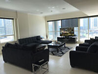 4 bedroom Apartment in Dubai Marina available for short term stay suitable for contactors & Families