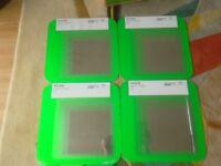 Ikea Mirrors (set of 4) green
