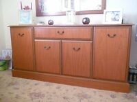 """Sideboard 61"""" x 17"""" Plenty of storage space Excellent condition"""
