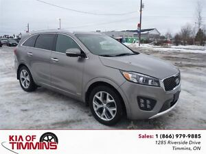 2016 Kia Sorento 3.3L SX+  4 Cameras Nappa Leather Navigation