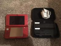 Nintendo 3DS, Case, Charger, 2 Games