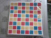 Mosaic tile sticker 15 cm x 15 cm pack of 30