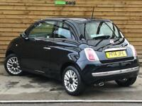 Fiat 500 1.2 Lounge 3dr [Start Stop] ONE PRIVATE OWNER (crossover black) 2014