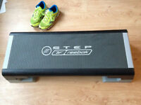Reebok Step - The Classic Cardio Aerobic Stepper Board - Grey