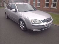 2003 Ford Mondeo Ghia X only 76k miles