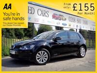 VOLKSWAGEN GOLF 1.6 S TDI BLUEMOTION TECHNOLOGY 5d 90 BHP Apply for finance Online today! 2014