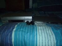 DVD PLAYER AND VCR
