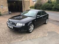 2002 Audi A4 1.8t Quattro years mot new cambelt