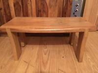 Lovely solid wood stool