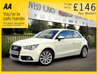 AUDI A1 1.6 TDI SPORT 3d 103 BHP Apply for finance Online (white) 2012