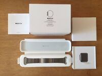 Brand New Genuine Apple Watch 42mm Stainless Steel Case With Apple Stainless Steel Link Bracelet
