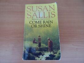COME RAIN OR SHINE - SUSAN SALLIS - PAPERBACK BOOK