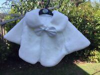 Ivory shawls x 2 NEW never worn