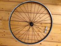 700c Cyclo Cross / Urban Bike front wheel. Shimano hub.