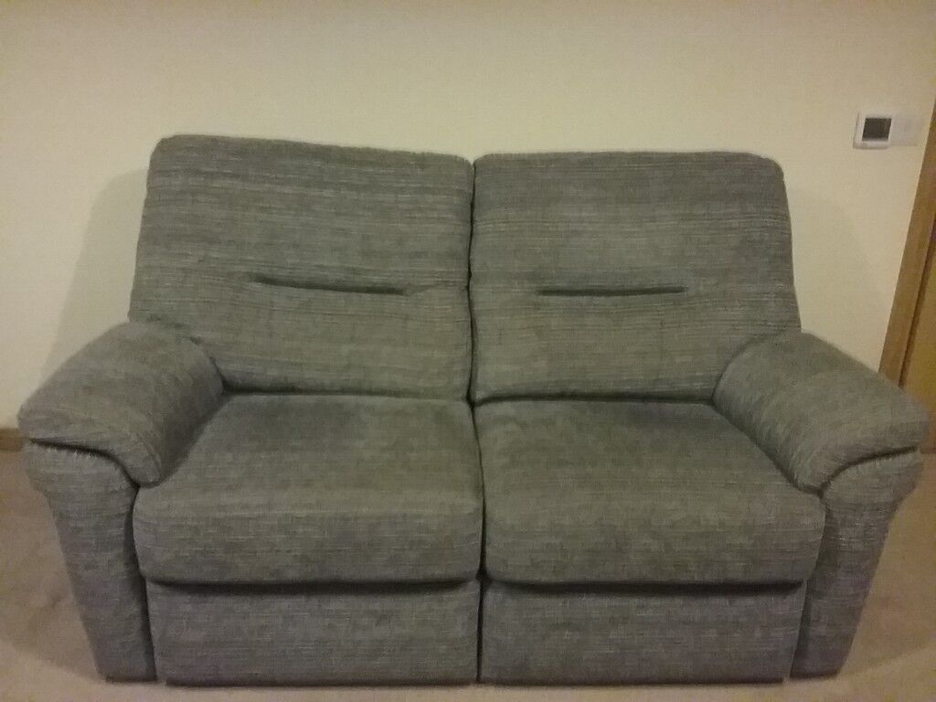 Sofa And 2 Chairs Colour Grey G Plan Made In England