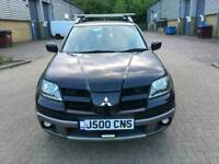 MITSUBISHI OUTLANDER 2.4 PETROL EQUIPPE LOW MILEAGE 2004 WITH PRIVATE PLATE