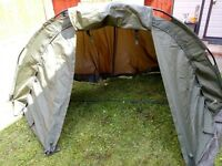 Bivvy and overwrap