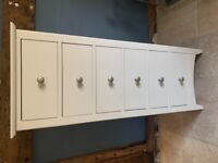 Used but perfect condition Hastings Ivory Tall Six Drawer Chest