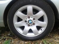 bmw e46 3 series 205 55 16 spare wheel with tyre for sale call thanks