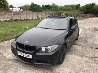 Bmw 330d m sport touring 2006 with panroof top spec quick sale