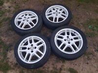 "Vauxhall Alloy Wheels 16"" Sri 4x100 Quite Rare"