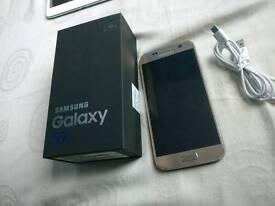 Samsung galaxy s7 gold 32gb unlocked fully working