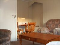 Only five minutes walk from Aberdeen University bright refurbished first floor flat.