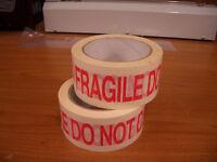 Packing Tape - Fragile Do Not Crush