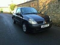 2002 Renault Clio 1.2 Low Miles Ideal first Car