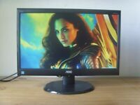 """AOC 19"""" LED PC Monitor - Can DELIVER"""