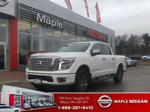 2018 Nissan Titan |Top of the Line|Crew Cab|Platinum|4X4|+++|
