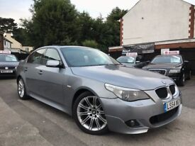 BMW 5 Series 3.0 530i M Sport Automatic 1 Owner Sunroof**FINANCE AVAILABLE*** 12 Months MOT+Warranty