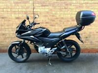 Beautiful Honda CBF125 - Low Miles and Great Condition! Will be a shame to see her go...