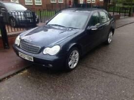 Mercedes c220 2.1cdi low miles