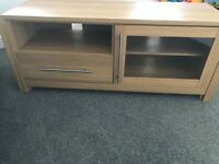 Wooden TV Stand in an Oak style finish