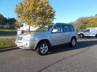 NISSAN X-TRAIL SVE DCI DIESEL 6 SPEED 4X4 STUNNING SILVER 2005 BARGAIN ONLY 1750 *LOOK* PX/DELIVERY