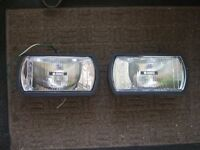 Pair of Ring spotlights for a vehicle