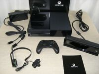 Xbox One - Day One Edition with Kinect & Two Contollers - Boxed and in Perfect Working Condition
