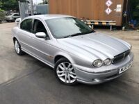 2003/53 JAGUAR X-TYPE V6 AUTOMATIC 80,000 GENUINE MILES LONG MOT DRIVES AMAZING
