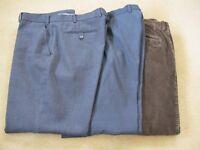 3 pairs of good quality trousers