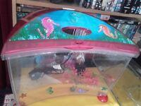 """childs """"marina"""" aquarium/fish tank/aquarium"""