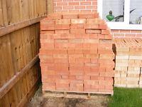 650 New Facing Bricks - Reddish tint