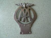 Pre war AA Motorcycle badge