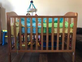 Mothercare Darlington Baby cot and Mattress