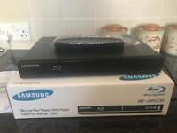 Samsung DVD/Blu-Ray Player - Fantastic condition, like new - £45 ONO