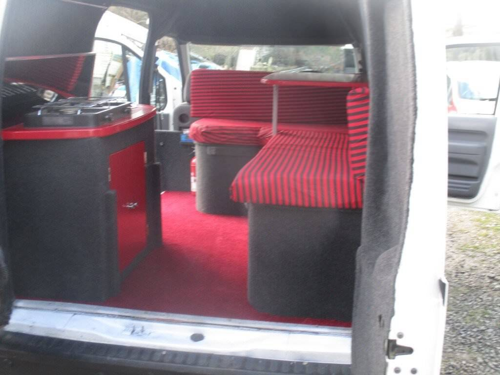 Ford Transit Connect Conversion In Ammanford Carmarthenshire