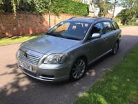 TOYOTA AVENSIS T3-SD 4D ESTATE 2005 5 SPEED YEAR MOT 07770928119
