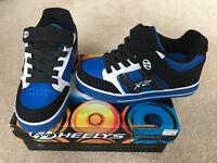 Brand new blue Heelys kids shoes (UK size 1)