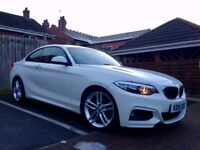BMW 220d m sport auto 2015 not 218d 118d 120d 320d 420d audi vw mercedes px